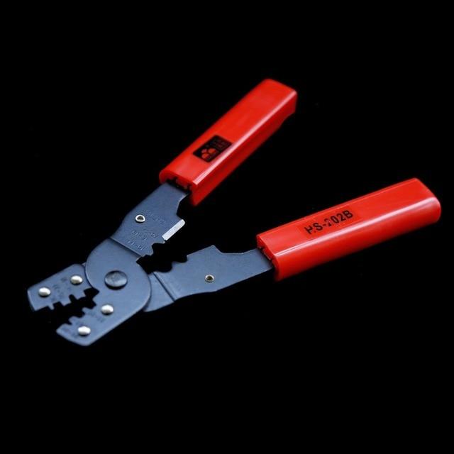 Pince à sertir multifonction borne nue sertisseuse HS-202B câbles 28 AWG à 13 AWG