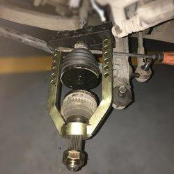 Heavy Duty Universal Cv Joint Puller Tool Propshaft Separator Splitter Remover Fully Adjustable Assembly Tool