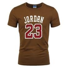Venta caliente del verano nueva camiseta Jordan 23 impresión hombres Swag  camiseta de calidad superior del 6e6d65dfc20