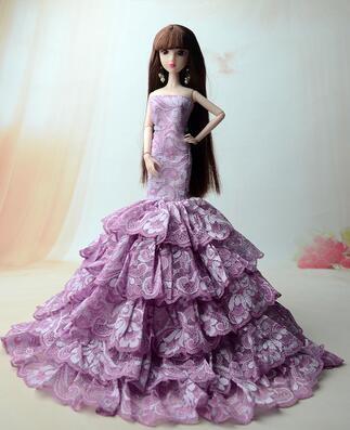 New Genuine case for barbie clothes set fashion clothing clothes casual clothes princess dress party dress
