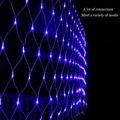 4.5 m * 1.5 m 300led red del acoplamiento web fata stringa luci brillano ghirlanda di illuminazione di natale della lampada de navidad de la boda par