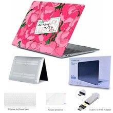 08c49c427c Coque rose pour fille pour nouveau MacBook Air Pro Retina 12 13 15 mac book  Pro 13.3 15.4 pouces coque d'ordinateur portable hou.