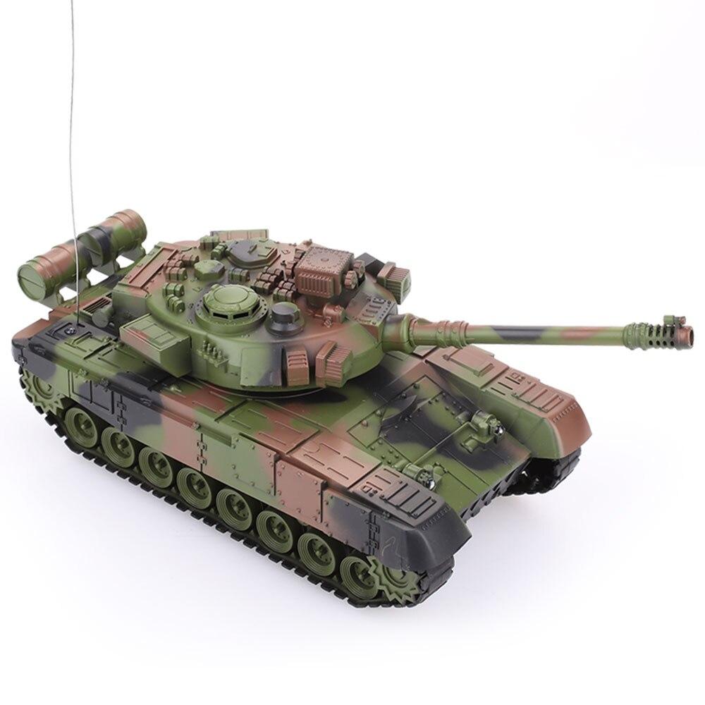 Коричневая модель с пультом дистанционного управления, танк-машинка, игрушка, развивающая интерес, возможность начала, крутая коллекция, на открытом воздухе, расслабляющая, прочная - Цвет: Army Green