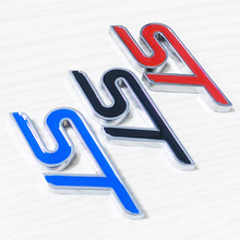Metal 3D ST Logo Chrome for Ford Focus ST