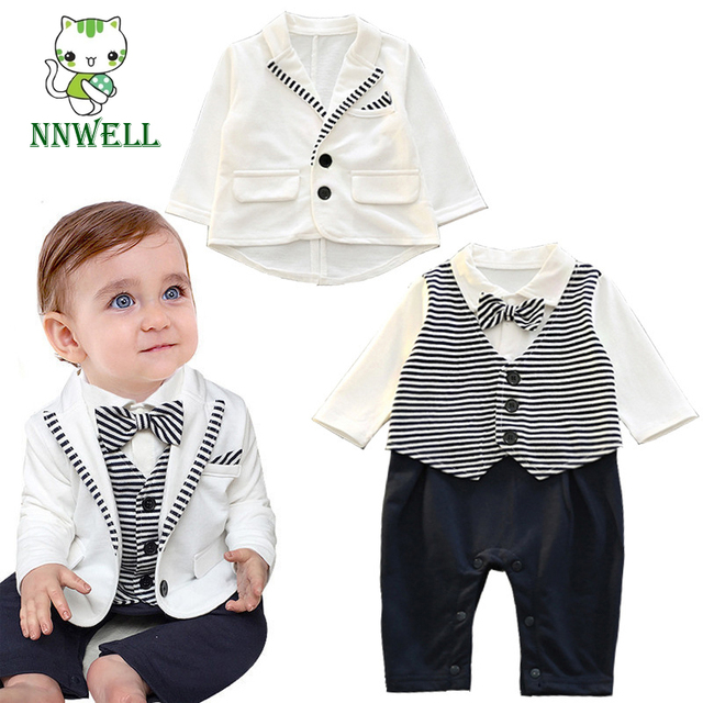 9fab269a2 NNW Baby Boy Winter Wedding Christening Dressy Party Tuxedo Suit ...