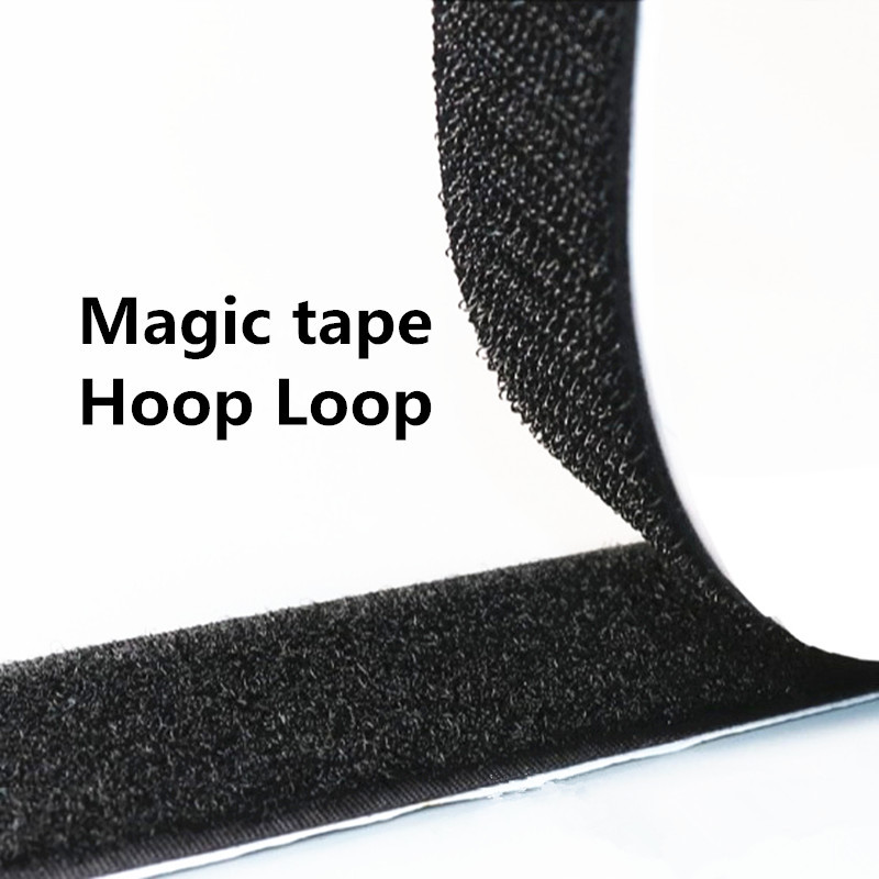 3cm 4cm 1pair Hook loop Length 5yard Nylon Magic Tape with Strong Glue Self Adhesive Fastener Clothing Shoes Accessories in Adhesive Fastener Tape from Home Garden