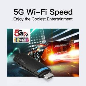 Image 3 - Ggmm mini tv vara android hdmi dongle hd 1080 p sem fio wifi dongle exibição miracast 5g airplay dlna de alta velocidade para youtube ios