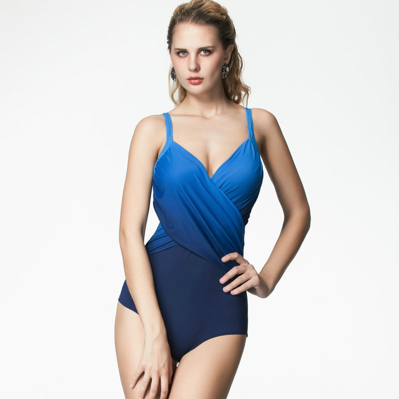 ФОТО YL Brand  print colorful fabric sports swimwear sportive swimming suit  girl comfortable one piece swimsuit bathing suit