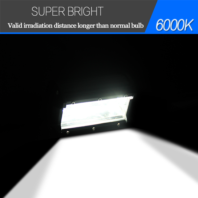 Image 5 - 5 inch 36W 72W LED Light Bar for Car Tractor Boat OffRoad Off Road Cars Fog Spotlight Car Tractor Truck 4x4 SUV ATV Running Lamp-in Car Light Assembly from Automobiles & Motorcycles