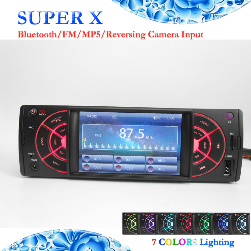 New HD TFT 4 Inches Bluetooth Autoradio USB Micro SD FM Radio MP3 MP4 MP5 Remote Control Car Stereo Headunit FY4202BT