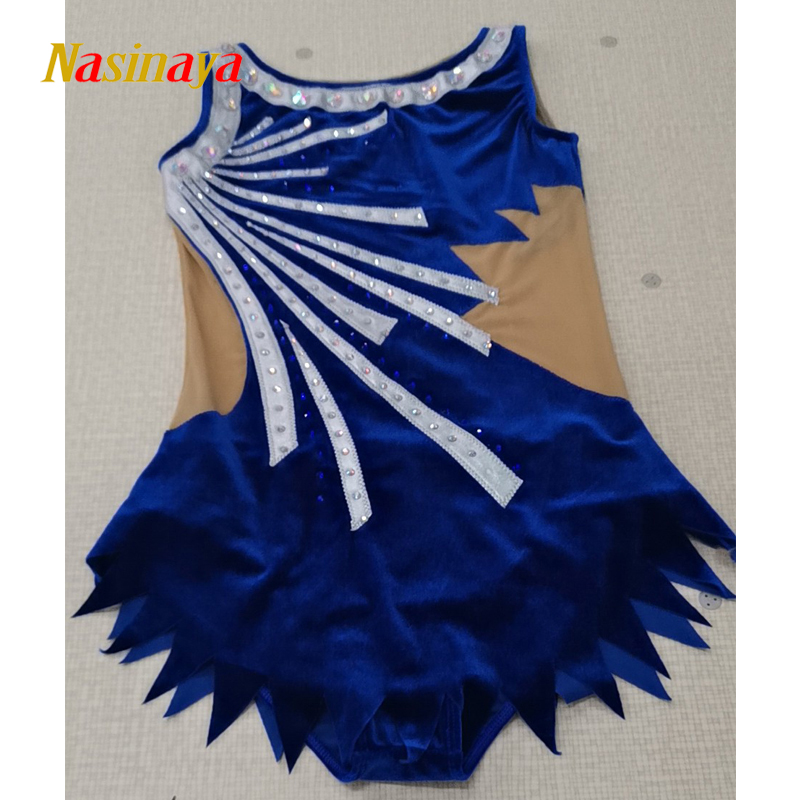 Customized Rhythmic Gymnastic Dress Leotards Dance Costume Bodysuit Artistic Gymnastics Dress Training Performance Child Adult