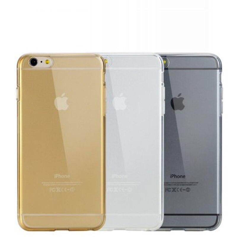 Srleeking чехол для iPhone 6S Новый ультра тонкий мягкий ТПУ прозрачный силиконовый Гель для Кожи, Чехол для iPhone 6 6S 6 plus