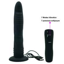 Long Huge Dildo Vibrators For Women 7 Speeds Realistic Dildo Silicone Suction Cup Penis Anal Vibrator Female Masturbator Sex Toy