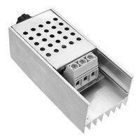 10000ワットハイパワーscr bta100-800b電子電圧レギュレータ用スピードコントロール&調光&サーモスタッ