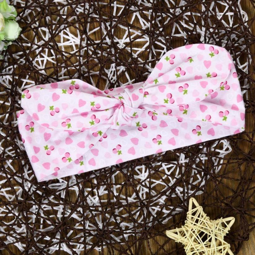 BMF TELOTUNY 2018 Kids Girls Baby Headband Toddler Bow Flower Hair Band Accessories Headwear Mar28 Drop Ship