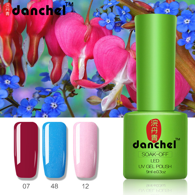 Gel Nail polish Soak off UV Gel Polish Kodi Lacquer Long lasting ...