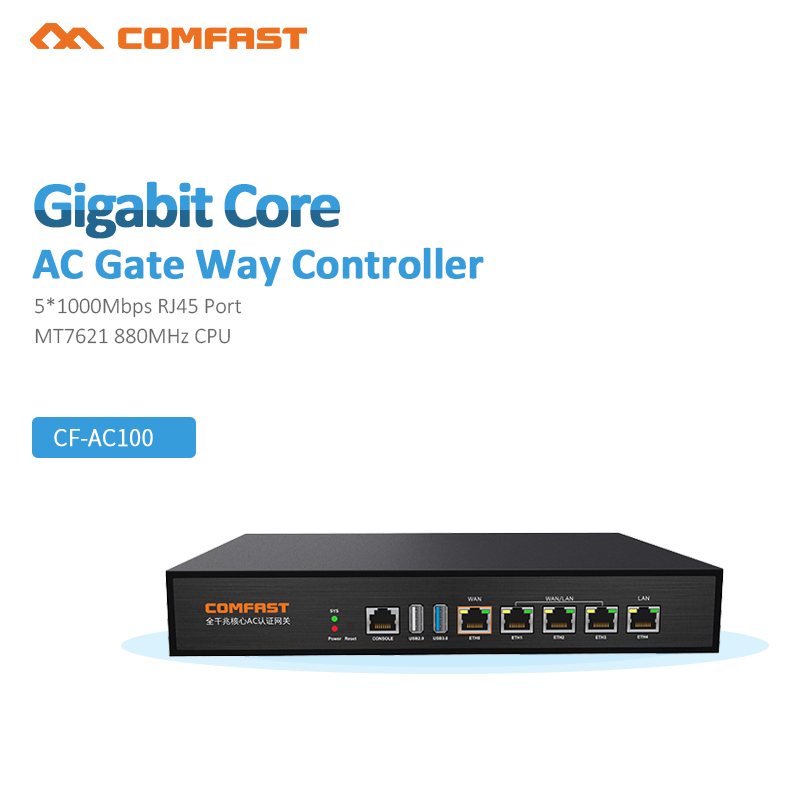 2018 Gigabit Wifi AC Router Enterprise Class Security gateway / Dual WAN Multi WAN / Load Balance QoS PPPoE Server