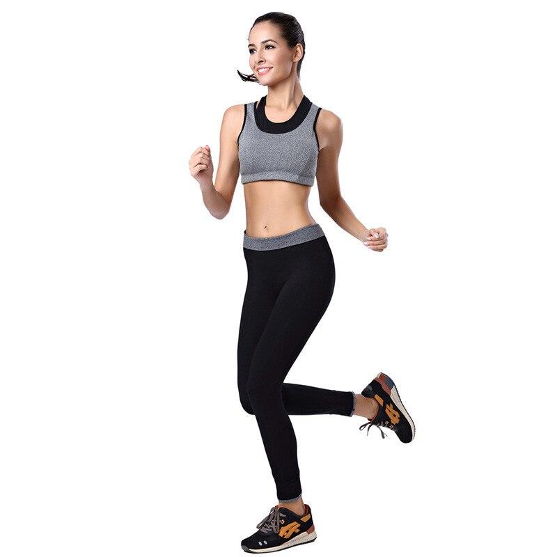 2017 Women Running Sports Pants Workout Long Bottoms Elastic Fitness Gym Leggings