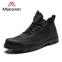 MYCORON мужская повседневная обувь ручной работы дышащие мужские ботинки Роскошные модные уличные туфли удобные кроссовки мужские zapatos hombre