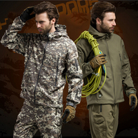 High Quality Lurker Shark Skin Soft Shell TAD V 5 0 Outdoor Military Tactical Jacket Waterproof