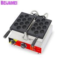 BEIJAMEI 뱀 기계 상업 호두 모양 와플 기계 110v 220v 전기 호두 와플 메이커