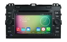 Quad Core 1024*600 Android 5.1.1 Car DVD Radio Player for Toyota Prado Land Cruiser 120 2003 – 2009 with GPS BT Wifi