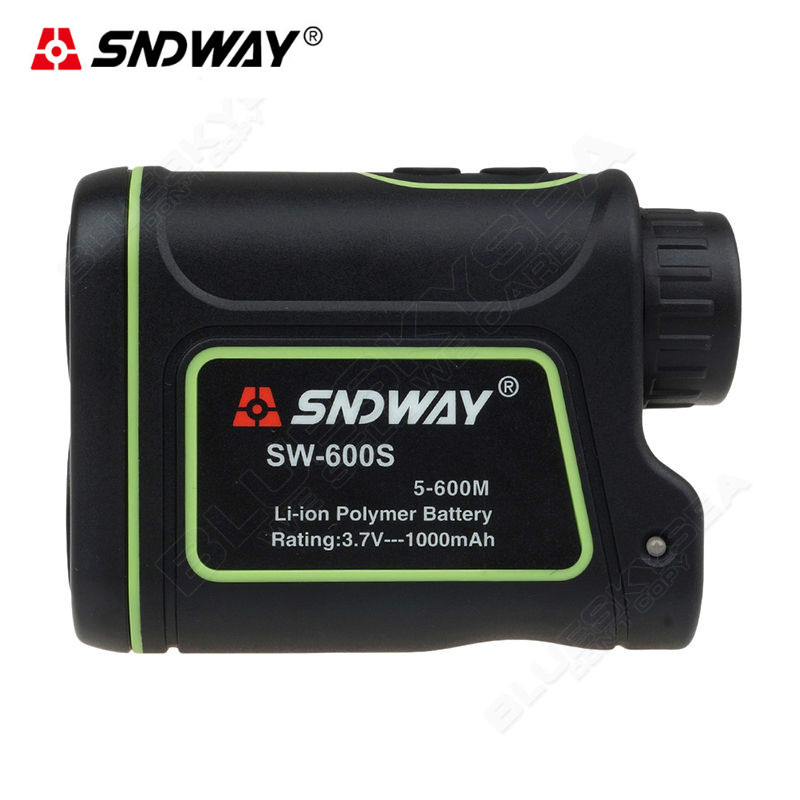 SNDWAY SW-600S 600M Distance Laser Range Finder Outdoor Golf Rangefinder M/Y Meter Speed Measurer Monocular Telescope 1200m hunting monocular telescope golf laser range distance meter rangefinder range finder with angle height speed measurement