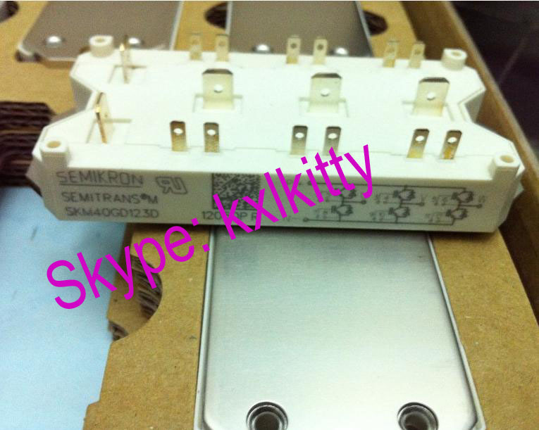IS NEW SKM40GD124D SEMIKRON IGBT MODULE skiip37nab12t4v1 is new semikron igbt module