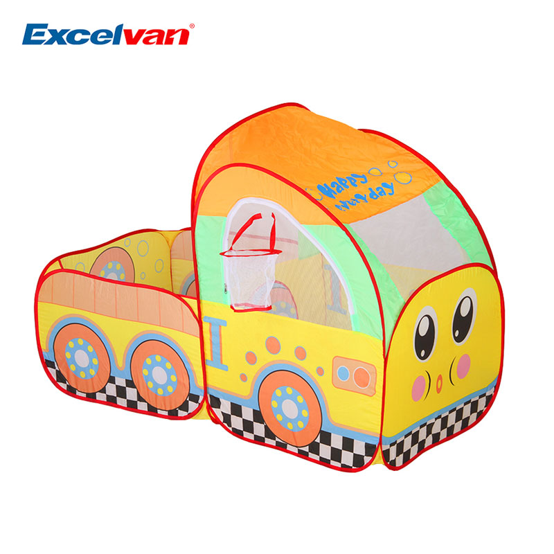 Free Shipping Kids Toddlers Truck Pop up Play Tent With a Ball Hoop Portable u0026 Foldable Indoor Outdoor Children Game Best Gift-in Toy Tents from Toys ...  sc 1 st  AliExpress.com : toddler tent - memphite.com