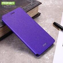 Mofi para Xiaomi Redmi 5 Plus caso flip de cuero de silicona suave de lujo original para Xiaomi Redmi 5 Plus caso 360 de metal duro