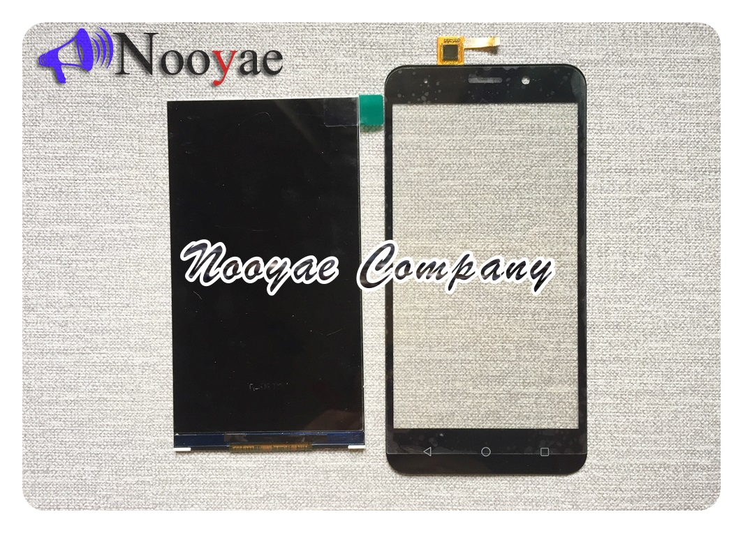 Black/Golden LCD Display For Vertex Impress Luck LCD Screen Display +Touch Screen Glass Digitizer Replacement +track