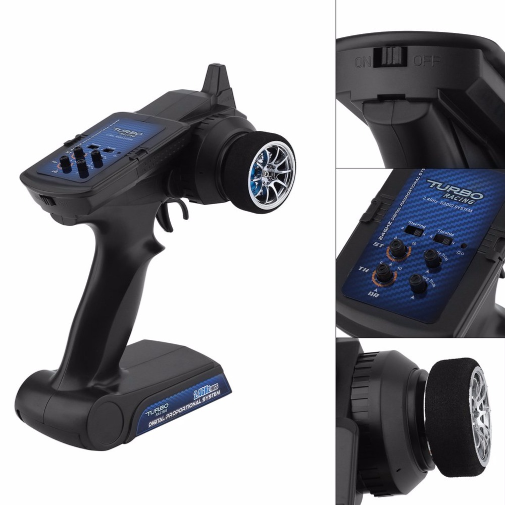 1pcs 90102G 2.4GHz 2CH Radio system Transmitter Controller Remote Control w/ Receiver For RC Car Boat niorfnio portable 0 6w fm transmitter mp3 broadcast radio transmitter for car meeting tour guide y4409b
