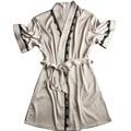 Robe de cetim roupão de banho vestes dames badjas para damas de honra estilo outono Mini roupa sexy vestes de cetim mulheres roupão dropshipping