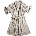 satin robe bath robe badjas dames robes for bridesmaids autumn style Mini nightwear sexy satin robes women bathrobe dropshipping