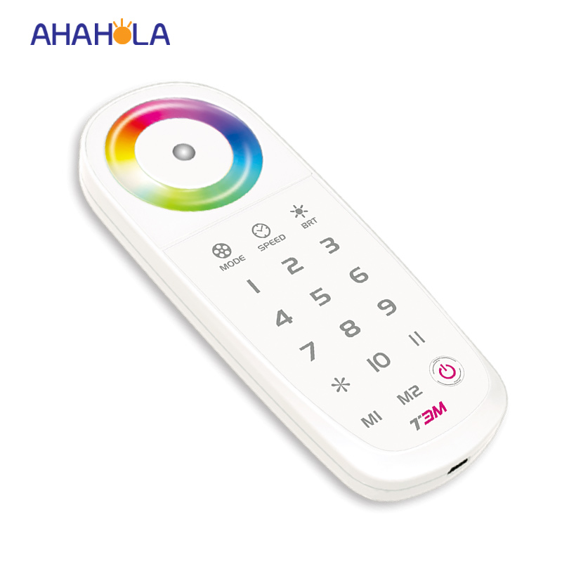 ФОТО 5 year warranty rf 2.4g led rgb controller synch control 10 zones receiver remote distance 30m
