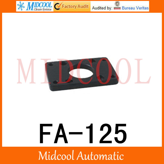 antall install 08 SC Install the flange plate cylinder FA-125 the flange diameter bore 125mm