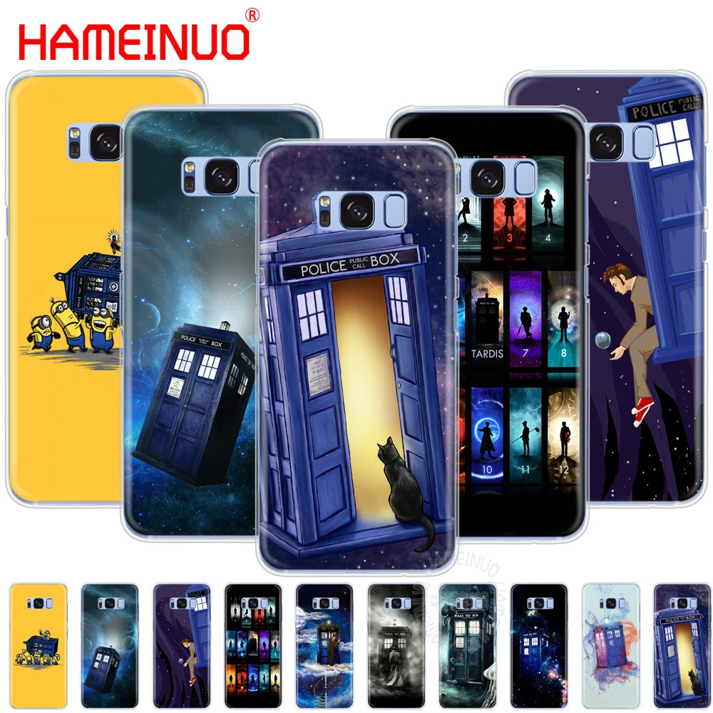 Half-wrapped Case Yinuoda Tardis Box Doctor Who Black Tpu Soft Rubber Phone Cover For Samsung S9 S9 Plus S5 S6 S6edge S6plus S7 S7edge S8 S8plus Cellphones & Telecommunications