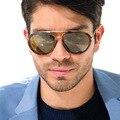New estilo de la superestrella de la moda hombres de las mujeres todas correspondan gafas de sol gafas de sol de diseñador de la marca de personalidad calle complemento uv400-proof oculos