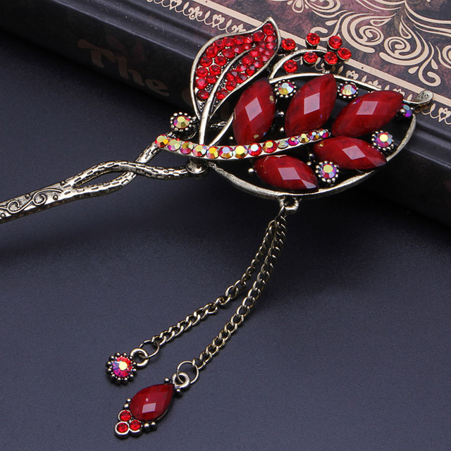 Women's Various And Elegant, Colorful, Rhinestone Hairpin
