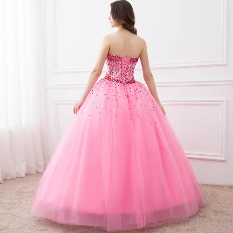 Moda Vestidos de quinceañera 2016 bola vestido palabra de longitud ...