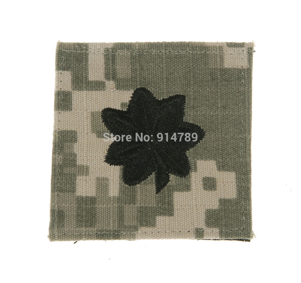US ARMY ACU RANK O-5 LIEUTENANT COLONEL  UNIFORM PATCH-34031