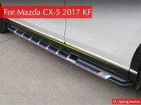 For Mazda CX 5 CX5 KF 2017 2018 Car Door Body Side ProtectionTrim Strip Decoration
