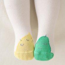 вязать носки с арнаментом лимона и груши