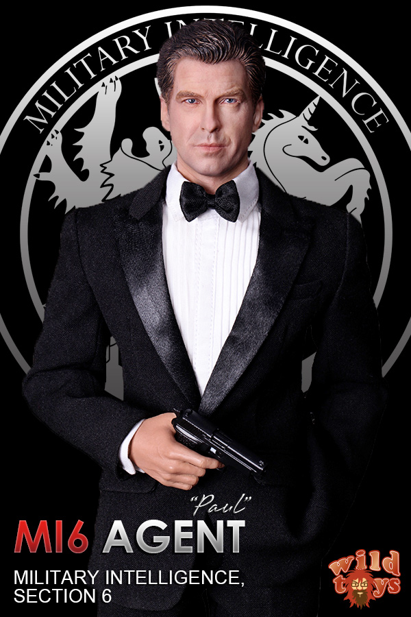 1/6 scale Collectible figure doll 007 Agent James Bond Pierce Brosnan 12 action figure doll Plastic Model Toys james bond agent 007 ocean royale m edt spr 75 мл тестер