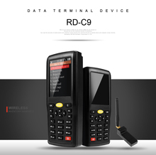 цена на C9 Wireless Barcode Collector Portable Data Terminal Inventory Device 1D/ 2D /QR Code Reader PDT with TFT Color LCD Screen