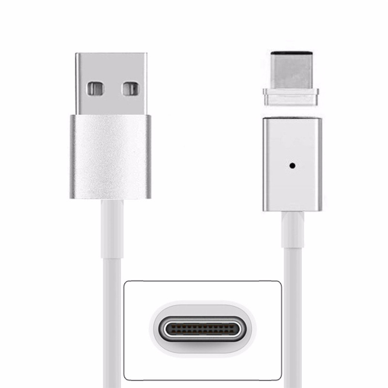 Magnetic USB Charge Cable Type-C Adapter Cable Charging For Nokia N1 Lumia 950 Huawei Ne ...