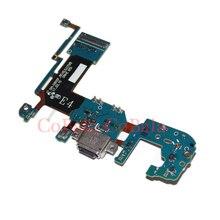 10 個前テストサムスンギャラクシー S8 + S8 プラス G955 G955F Usb 充電ポートドックタイプ C 充電コネクタフレックスケーブルロビン