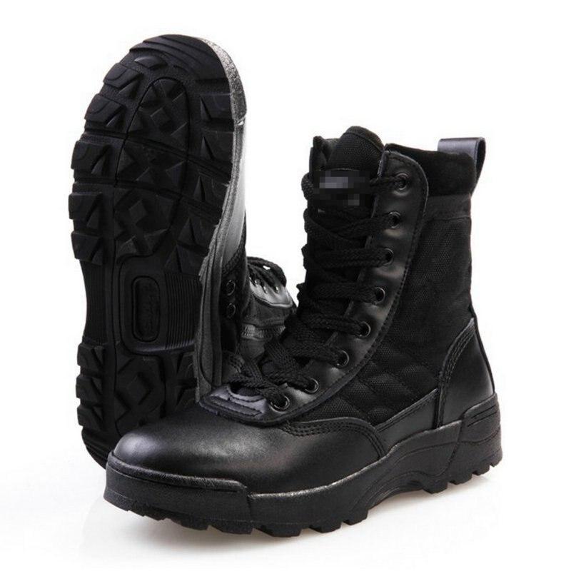Army Men s Tactical font b Boots b font Desert Outdoor font b Hiking b font