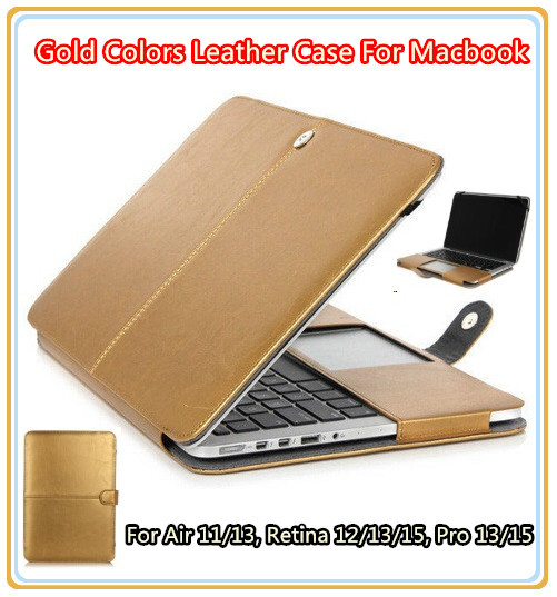 New Gold Colores Funda De Cuero Para Macbook Laptop Retina 12 Air11 Air13 Retina 13 Pro13 Pro15 Retina15 4 Envío De Caída Libre Leather Case Ipod Touch Leather Cell Caseleather Envelope Case Aliexpress