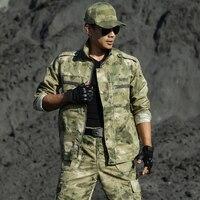 Uniforme Militar Multicam Camouflage Pakken Jacht Kleding Mannen Tactische Speciale Kracht Ropa Caza Uniformen Combat Ghillie Pak-in Jacht Pakken van sport & Entertainment op